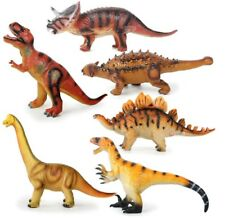 Dinosaurs models action figure toy 6 versions T-Rex Triceratops Jurassic World
