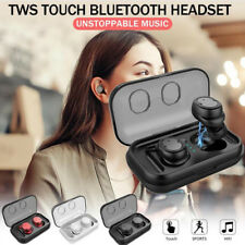 True Wireless Stereo Headphone TWS Bluetooth 5.0 in-Ear Earbuds Earphone Headset