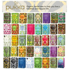 Pukka Tea 8 x 20 Multi Pack Offers FULL RANGE. Discounted Tea Caddy Offer !