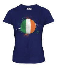 IRELAND FOOTBALL LADIES T-SHIRT TEE TOP GIFT WORLD CUP SPORT