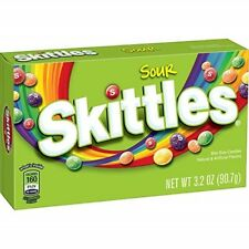 Skittles Sour Candy Theater Box, 3.2 ounce