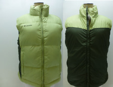 Columbia Goose Down Puffer reversible Vest jacket coat ski bunny womens Medium