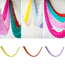 3m Paper Garland Bunting Banner Birthday Wedding Party for Hanging Decoration b