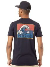 Quiksilver Black The Original Mountain And Wave T-Shirt