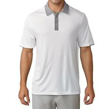 Adidas Climachill Stretch Polo Shirt - White/Grey One