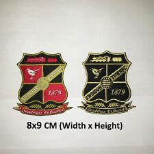 Swindon Football Club Embroidered Patch Badge Sports Iron On Sew On Patch Badge