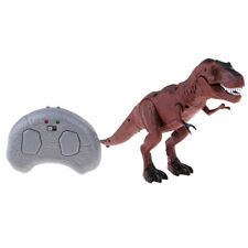 Remote Control Dinosaur Walking Toy Sound Light Robot Gift for Kids Toddlers