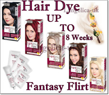 Fantasy Flirt Hair Dye Up to 8 Weeks Lasting Effect 100% Grey Coverage  3 Oils