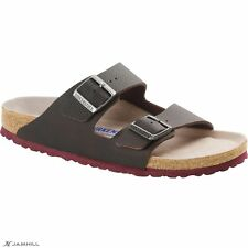 Birkenstock Men's Arizona Desert Soil Strap Soft Footbed Narrow Fit Sandals