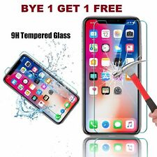 2018 100% Genuine Tempered Glass Screen Protector Film For Apple iPhone 5 TO XR
