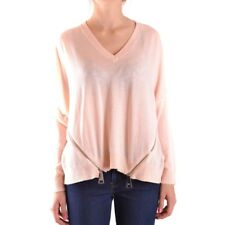 bc23663 LIU JO MAGLIONE ROSA ANTICO DONNA WOMEN'S ANTIQUE PINK SWEATER
