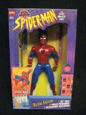 "Toy Biz Spider-Man Deluxe Edition Super Poseable 10"" NIB 1994 Marvel Comics"
