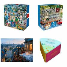 Gibsons Puzzles - Summer in Ambleside, An Evening in Paris & More!