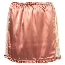 TOPSHOP BEAUTIFUL LINGERIE VINTAGE LOOK LACE SATIN SILKY MINI SKIRT BRAND NEW