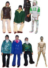 "1970 JOE NAMATH 12"" mego football doll - PANTS SHIRT SHOES SOCKS HEAD BODY PARTS"