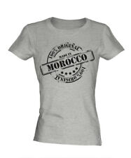 MADE IN MOROCCO LADIES T-SHIRT GIFT CHRISTMAS BIRTHDAY 18TH 30TH 40TH 50TH 60TH