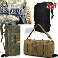 50L Molle Outdoor Military Tactical Backpack Travel Camping Hiking Trekking Bag