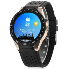 Kingwear KW88 3.5cm 3G Smartwatch Phone Android 5.1 Quad-Core 4GB GPS Contapassi