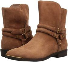 New UGG BNIB £210 Suede Leather Fur Women's Ankle Biker Shoes Boots