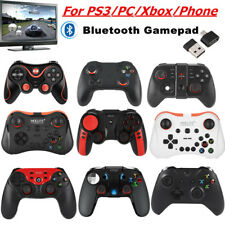 Wireless Bluetooth Gamepad Joystick Game Controller+Holder For IOS Xbox One PS3
