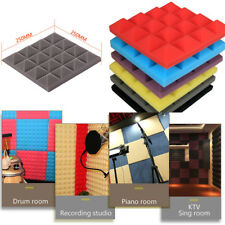 1pcs Acoustic Foam Panel Sound Stop Absorption Sponge Studio KTV Soundproof Pad