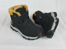 Boys Kids Warm Winter Fur Lined Boots Shoes Snow Boots Infant and Junior Size