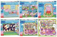 Ravensburger Various Peppa Pig Puzzles - Floor Puzzles, 3/4 In a Box & More!