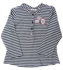 Ikks tee-shirt manches longues à rayures  fille 2 ans
