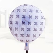 Electric Fan Dust Proof Cover Fashion Printing PEVA Round Fan Protector#SYY