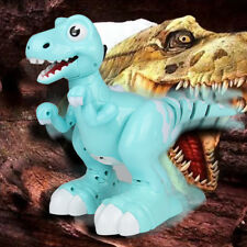 Cute Robot Mist Spray Dinosaur Remote Control Interactive RC Toy For Kids Gift X