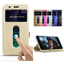 Bakeey Dual Window Flip Magnetic PU Leather Full Body Protective Phone Case For