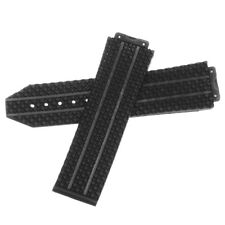 Replacement 24mm Rubber Watch Band Strap For HUBLOT 44-45 H BIG BANG