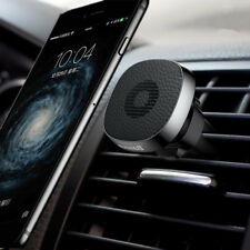 Baseus Pro Car Air Vent Holder Durable Leather Magnetic Phone Mount Stand for