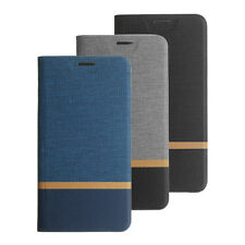 Bakeey Flip Cloth Pattern+PU Leather Full Protective Case For Xiaomi Mi A2 Lite