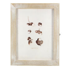23x18cm/19x14cm Vintage Solid Wood Photo Picture Frame Wall Hanging Shabby Chic