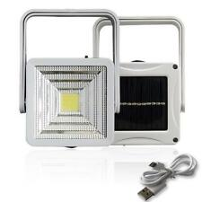2W Rechargeable Portable Solar LED Flood Light Outdoor Camping Emergency Lamp