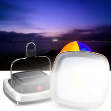 Portable 3W 300LM COB LED Solar Lantern USB Rechargeable Camping Tent Light