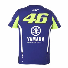 Valentino Rossi VR46 Moto GP M1 Yamaha Racing Male T-Shirt Official 2017