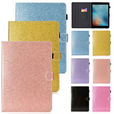 "For iPad 6th Gen 9.7"" 2018/Air 2/Mini/Pro Bling Smart Leather Case Stand Cover"