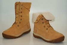 Timberland Woodhaven Rodillo Down Impermeables Botas de Invierno Mujer 8745B