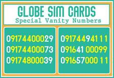 Globe Classic Special Numbers Vanity Sim Cards
