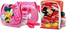 Oficial Disney Minnie / Mickey Mouse Fiambrera el Kit Incluye Bidón