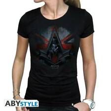 ASSASSIN S CREED - Tshirt Jacob Union Jack woman SS black - basic*
