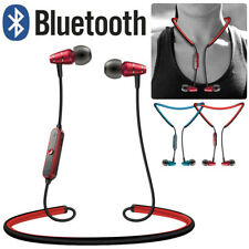 WirelessBluetooth Headphone Sport Earphone Neckband Headset with Mic For Iphone