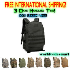 40L Expandable Tactical Bag Military Sport Camping Hiking Trekking Camo Backpack