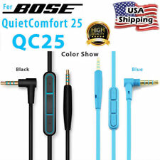Replacement Audio Cable Wire Cord w/Mic For BOSE QuietComfort 25 QC25 Headphones