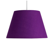 """Fabric Ceiling Pendant Table Lamp Light Shade Modern 12""""  Various Colours NEW"""