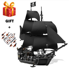 New Building Blocks Pirates Of The Caribbean Black Pearl Ship Xmas Toys For Kids