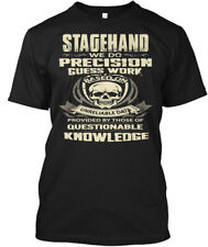 Stagehand- - Stagehand We Do Precision Guess Work Hanes Tagless Tee T-Shirt