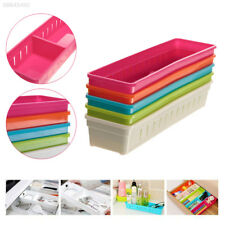 0AFA Drawer Storage Box Organizer Holder Small Objects Sorting Colorful Plastic